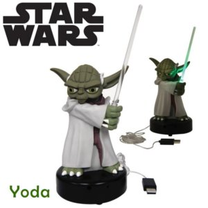 Goodies Star Wars lampe USB Yoda