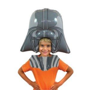 Cadeau Star Wars perruque gonflable Dark Vador
