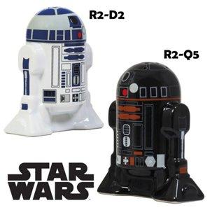 Gadget Star Wars salière et poivrière R2D2 R2Q5