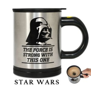 Mug Star Wars mélangeur automatique Dark Vador