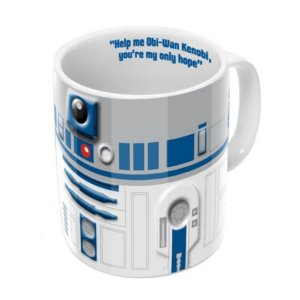 Mug Star Wars R2D2 2D