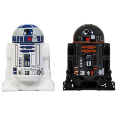 Cadeau cuisine Star Wars salière et poivrière R2D2 R2Q5