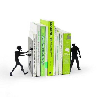 serre-livres design zombie