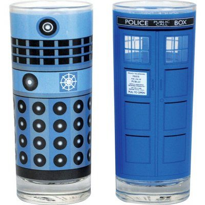 Verre Doctor Who