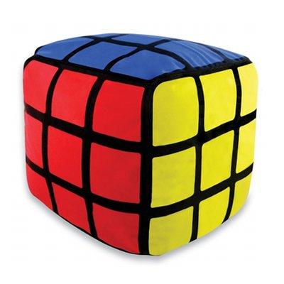 cadeau d co pouf rubik 39 s cube gonflable rev tement tissu. Black Bedroom Furniture Sets. Home Design Ideas