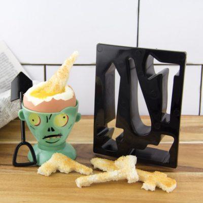 Kit coquetier zombie Eggpocalypse