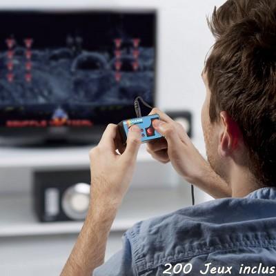 Mini manette rétro 200 jeux