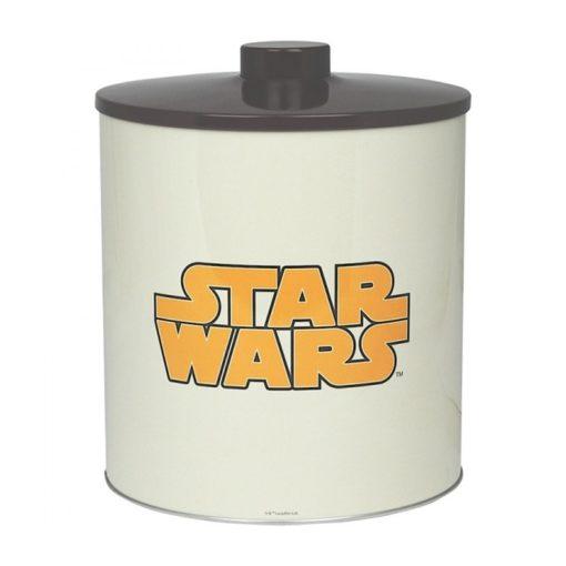 Boite à biscuits Stars Wars vintage en métal à l'effigie de Chewbacca