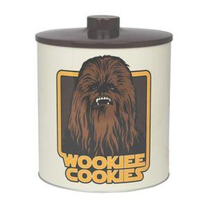 Boite à gâteaux Stars Wars vintage en métal à l'effigie de Chewbacca