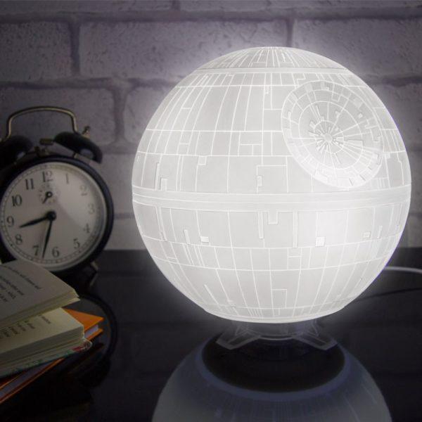 Lampe Étoile de la Mort Star Wars en 3D avec prise USB et Leds