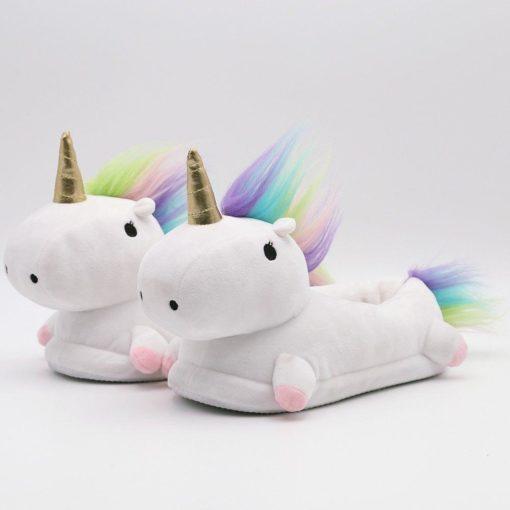 mules licornes lumineuses