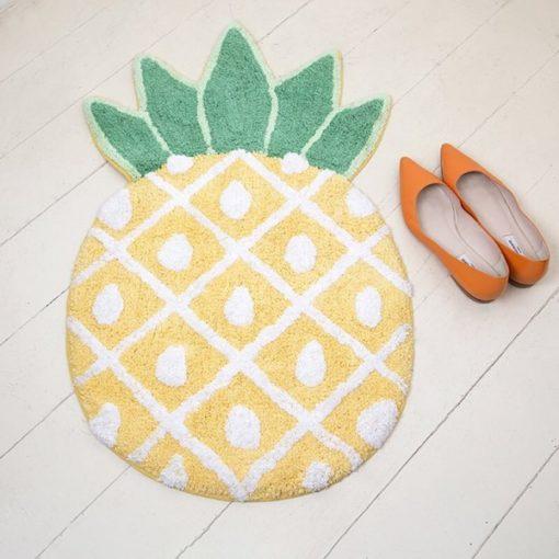 tapis en forme d'ananas