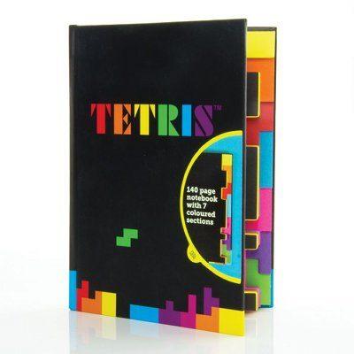 Carnet de notes original Tetris