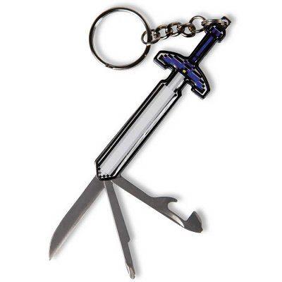 Porte-clés épée multifonction
