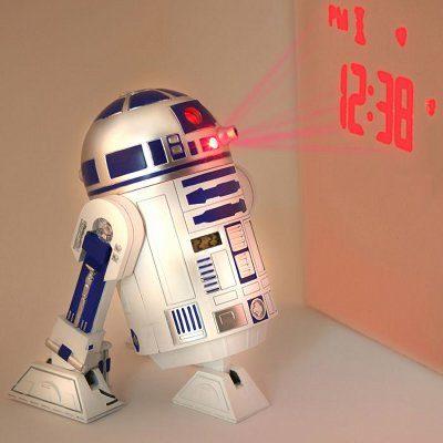 Réveil projecteur R2-D2 Star Wars
