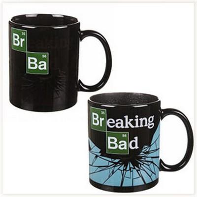 Mug Breaking Bad qui change d'image au contact de la chaleur