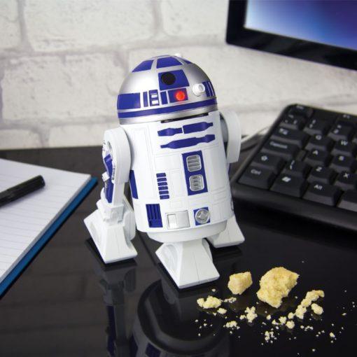 Mini aspirateur de bureau Star Wars en forme de R2-D2